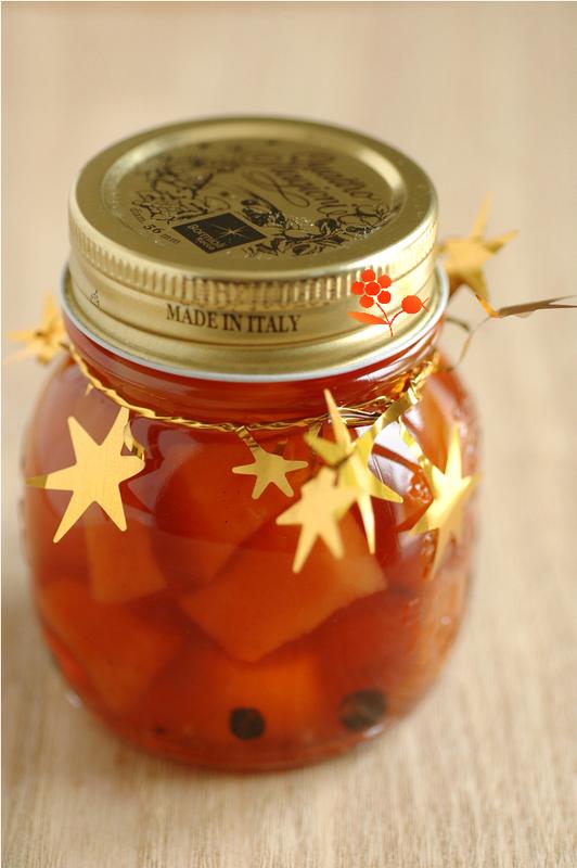 Pickles de coings aux épices_4