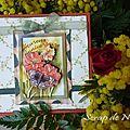 Carte anniversaire Bouquet - Février 2011