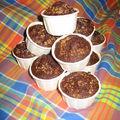 Les muffins de bob au chocolat & a la noix de coco