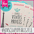 J-1 pour version scrap paris 2018 !