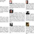 Salon du livre de decize : les auteurs.