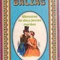 Mémoires de deux jeunes mariées ; honoré de balzac