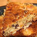 Gâteaux moelleux abricots/chocolat