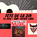 Samedi 15/06 : fête de la zik : mines floor cowboys + straten + the crazy therapy