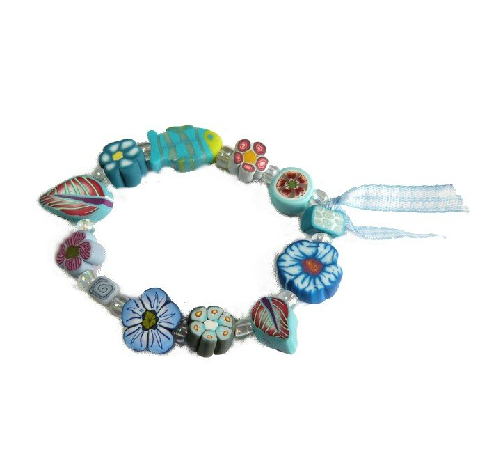 bracelet bleu1