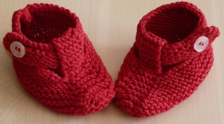 chaussons languette