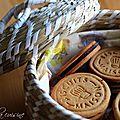 Biscuits maison à la mélasse fourrés au chocolat