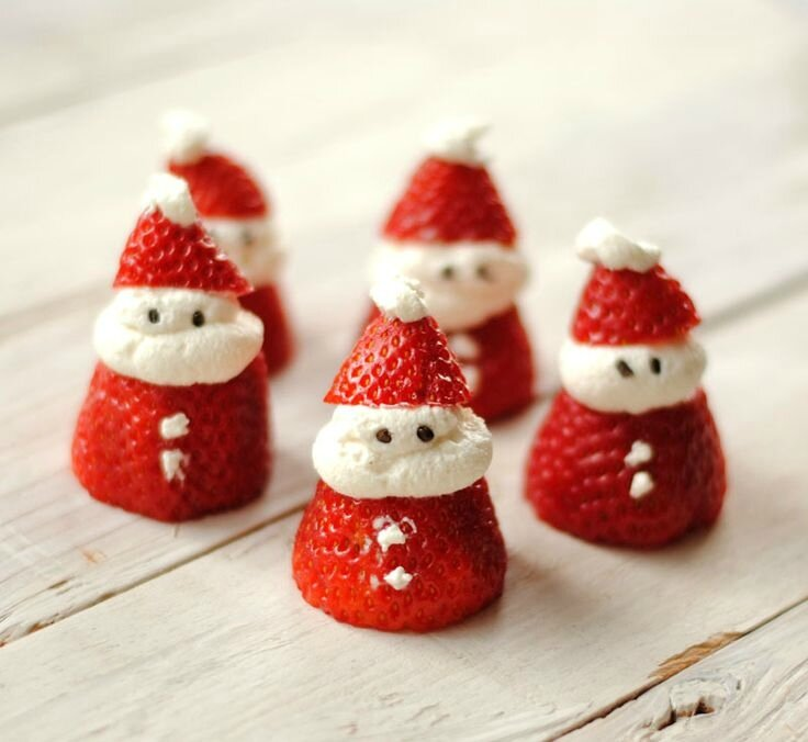 Xmas strawberries