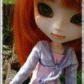 Vanille et lil-ann sous le soleil d'automne...