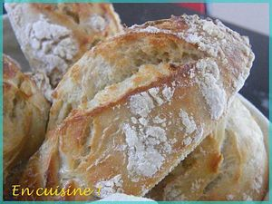 en cuisine pains ss pétrissage