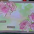 Passion cartes créatives - défi 634 monet