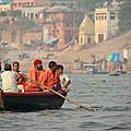 Varanasi, pélerins