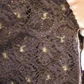 Le petit tailleur en dentelle de laine, détail