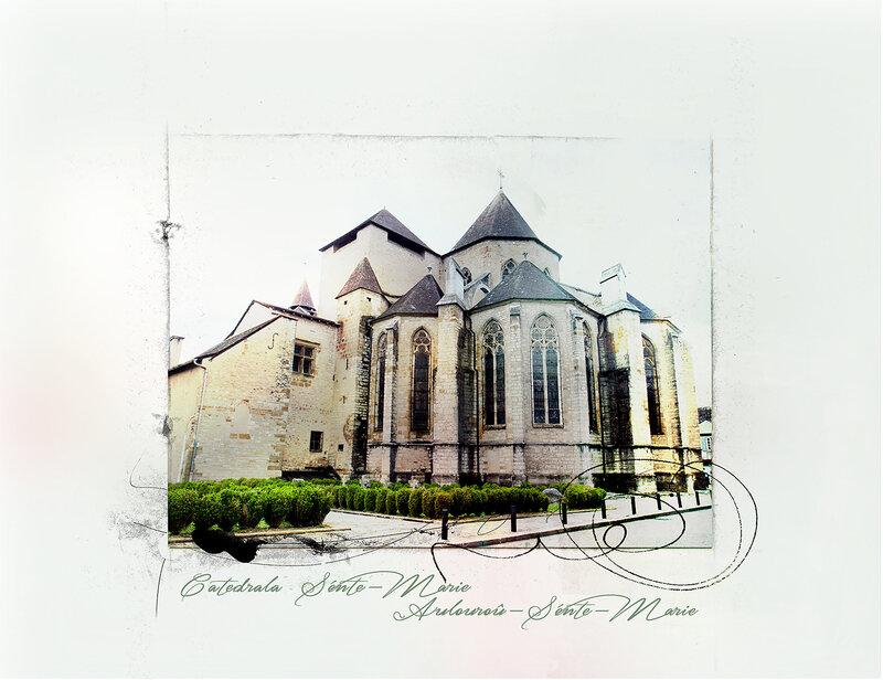 Oloron Sainte-Marie - Catédrale Sainte-Marie_1800