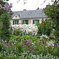 Giverny : le clos normand
