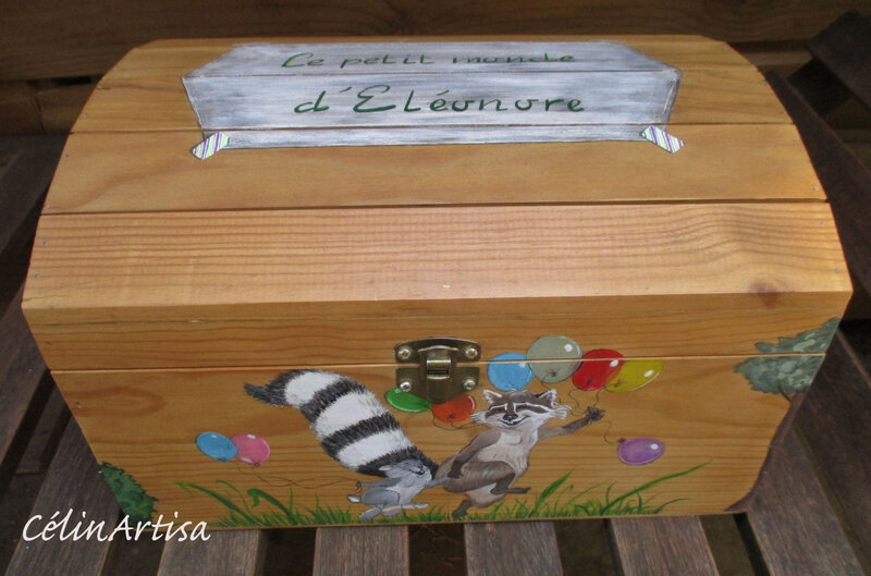 "Coffret Eleonore ""Animaux & ballons"""