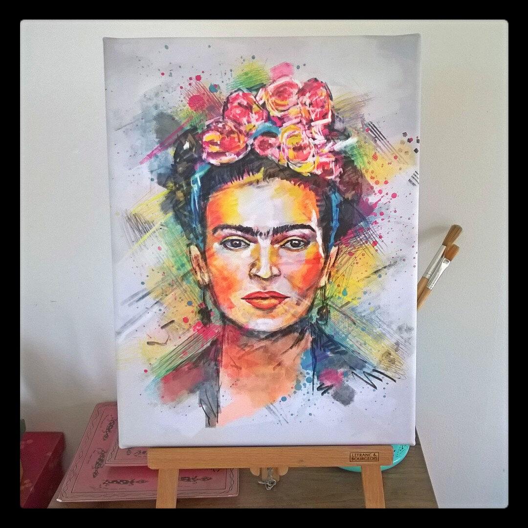Frida s'est invitée chez nous (Concours Posterlounge, concours terminé)