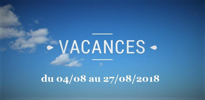 Vacances 2018