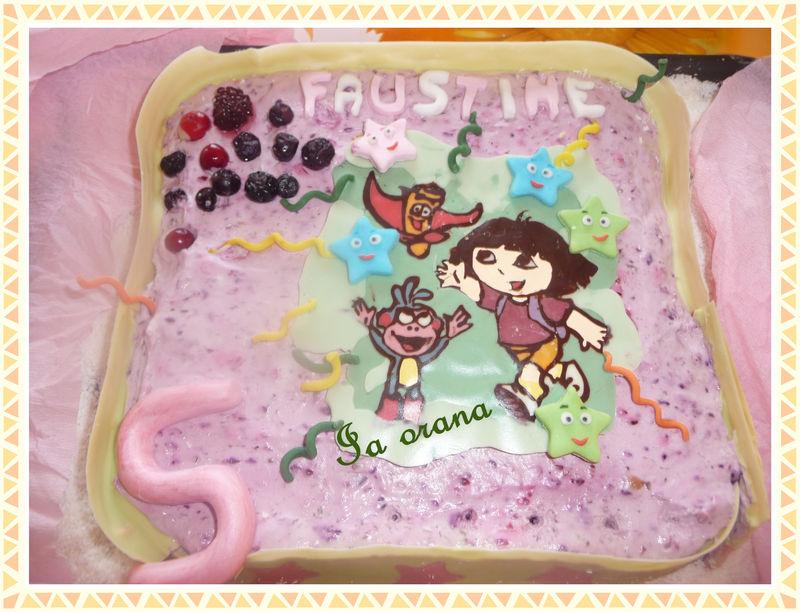 Gâteau Dora et Babouche