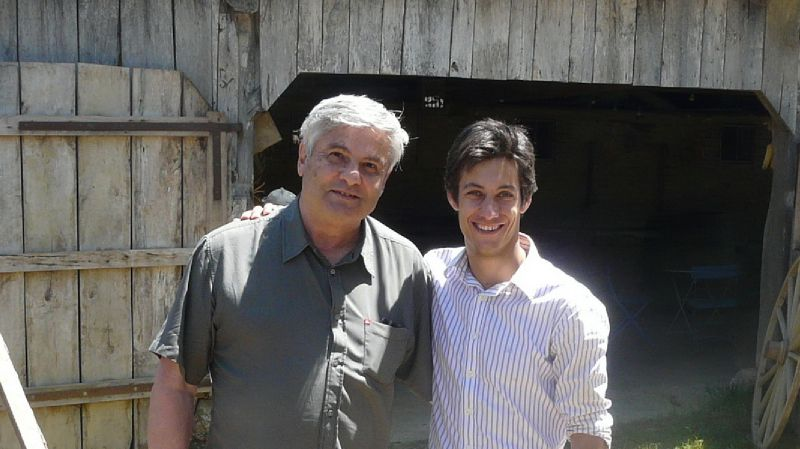 Julien Lescarret et moi
