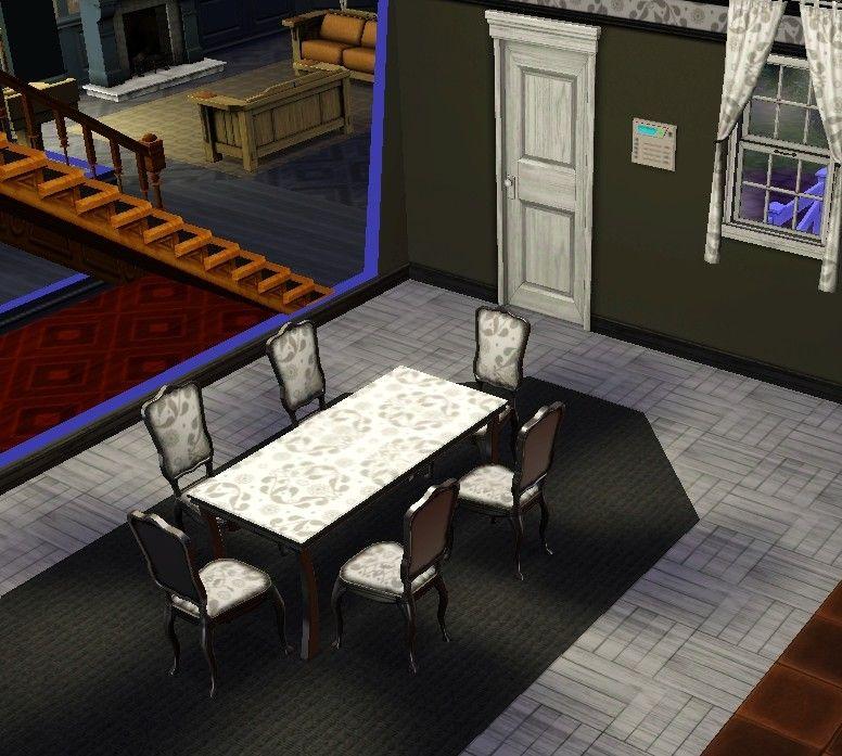 salle manger baroque 1001 motifs chez levaloise. Black Bedroom Furniture Sets. Home Design Ideas