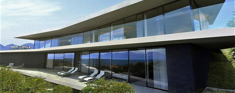 maison d'architecte cannes californie