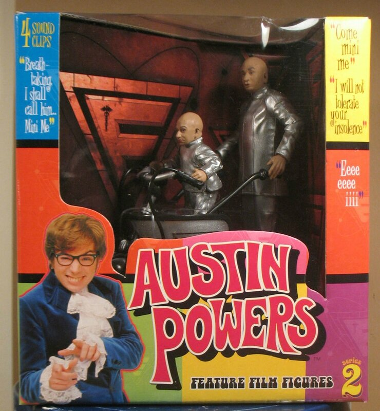 mcfarlane toys austin powers mini mobile
