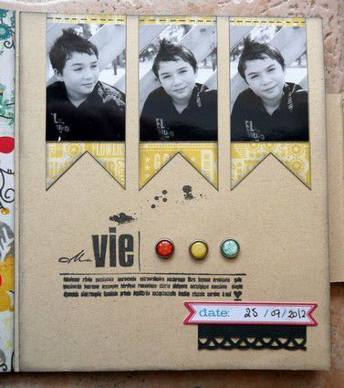 mini album Chronique scraplift Daude 16