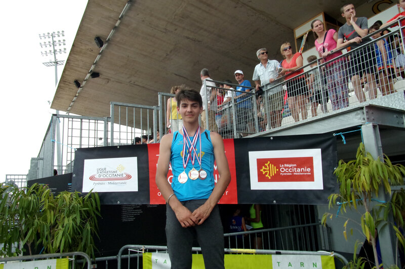 Championnats régionaux sur piste Albi 24