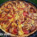 Tarte à la tomate & brique