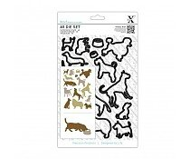 xcut-a5-dies-set-15pcs-dogs-xcu-503206