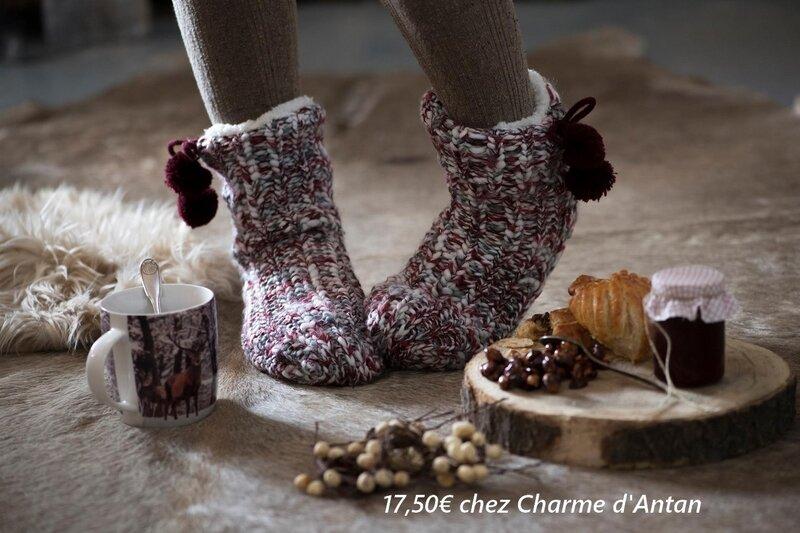 chaussettes maison maison de lilo