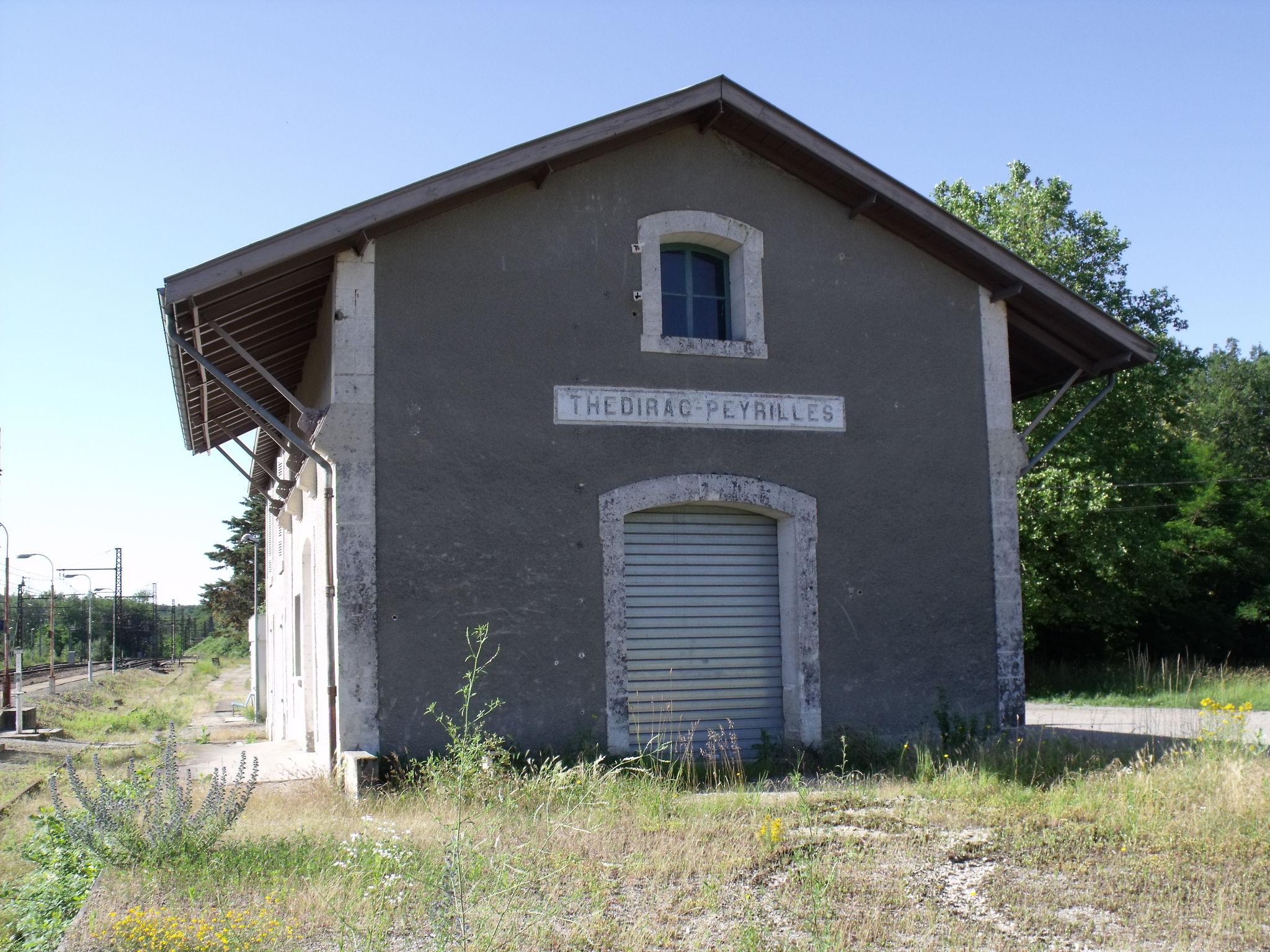 Thedirac-Peyrilles (Lot - 46) quai