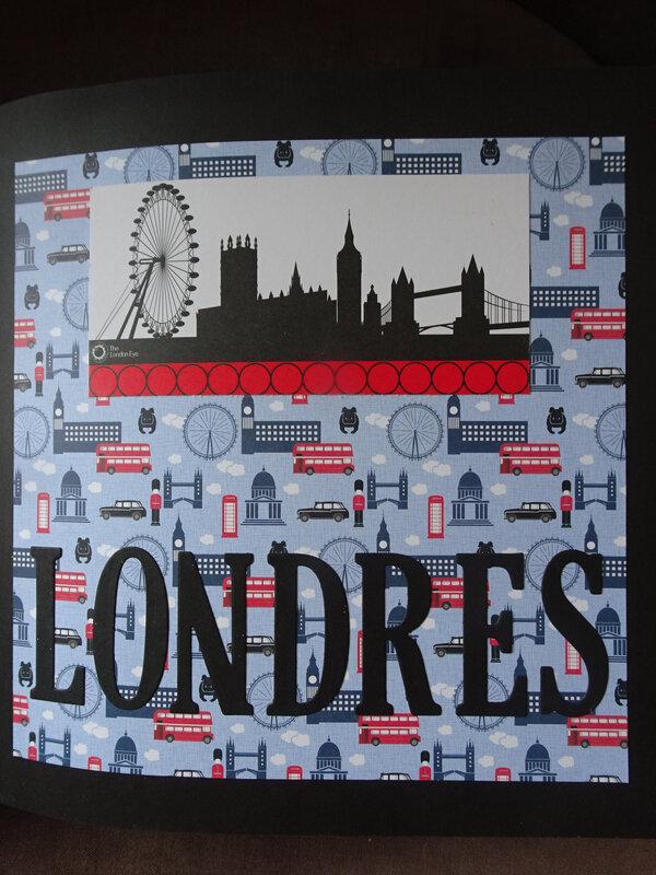 12a Quelques pages Album LONDRES