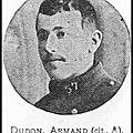 DUDON Armand