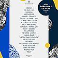 Playlist hebdo #35 • lundi 29-05-2017 - spécial festival les papillons de nuit