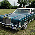 Lincoln continental town car 4door sedan 1977-1979