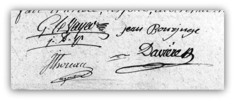 Héroux décès signatures