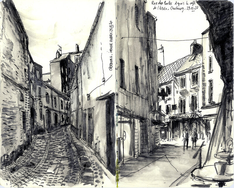 Cherbourg_rues
