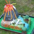 Gâteau volcan Islandais