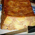 Cake aux pommes et aux flocons d'avoine