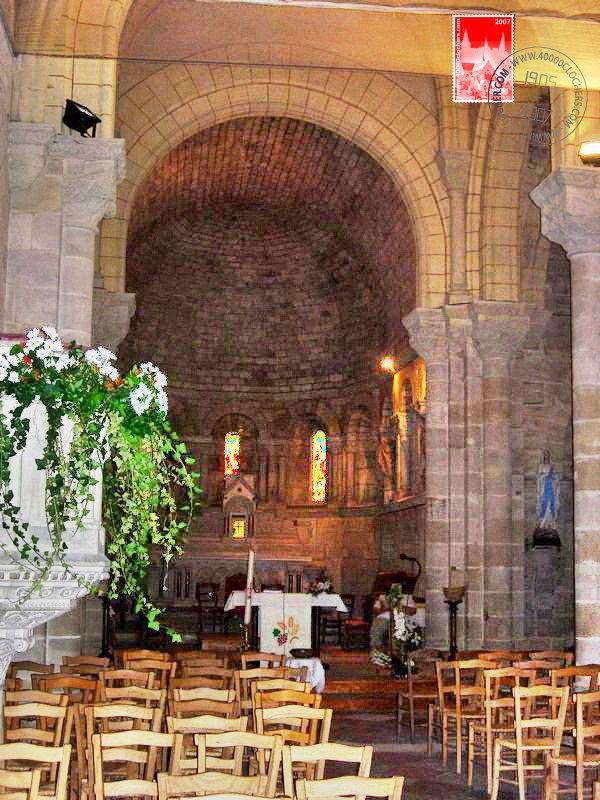 Eglise Saint Jean-Baptiste de La Brède, intérieur