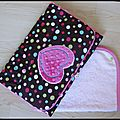Pochette à langer girly