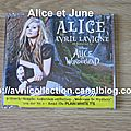 Maxi CD Alice/Alice in Wonderland-version allemande (2010)