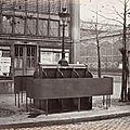 Urinoir, Halles centrales, Paris 1875