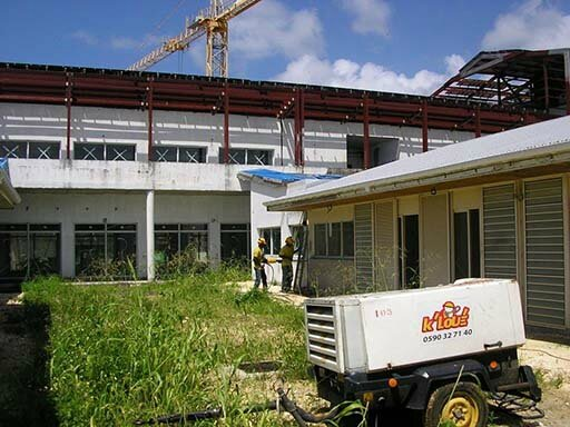 SITE NEW HOSPITAL CAPESTERRE BELLE-EAU - GUADELOUPE