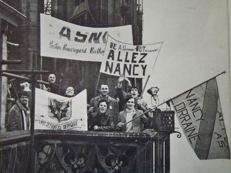 (1970] Une très grande fierté de porter les couleurs de Nancy