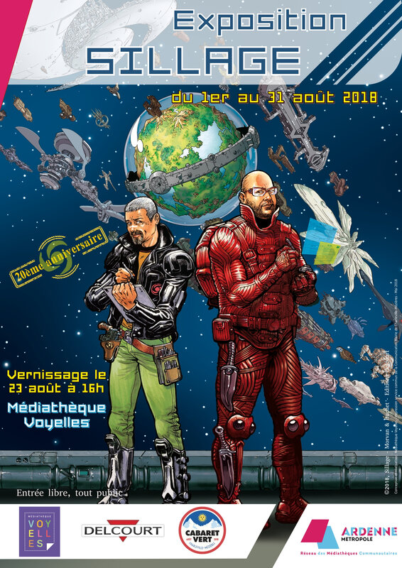 affiche expo Sillage