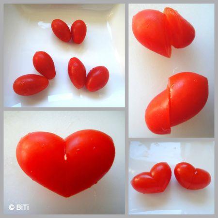 tuto DIY déco mariage original tomate coeur