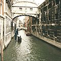 Venise, le pont des Soupirs (Italie)